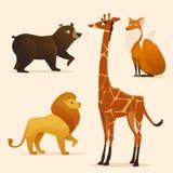 Vector animals Royalty Free Stock Photos