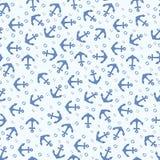 Vector ankerpatroon Stock Fotografie