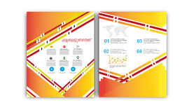 Vector Annual Report,Book Cover Layout ,Leaflet Brochure,Flyer Template,A4 Size Stock Photos