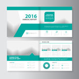 Vector annual report Leaflet Brochure Flyer template design, book cover layout design,. Vector Leaflet Brochure Flyer template design, annual report book cover royalty free illustration