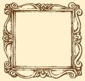 Vector antique frame Royalty Free Stock Photos