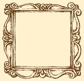 Vector antique frame vector illustration