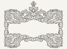 Vector Antique Vintage Frame Royalty Free Stock Image