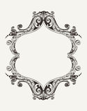 Vector Antique Vintage  Frame Royalty Free Stock Photo