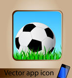 Vector app icon for mobile phone Stock Image