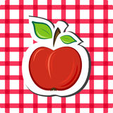 Vector apple Royalty Free Stock Images