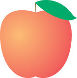Vector apple Stock Photography