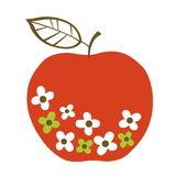Vector apple design Stock Images