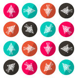 Vector Application Icons Royalty Free Stock Image