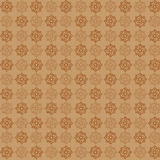 Vector arab vintage style seamless pattern Stock Image