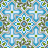 Vector arabic seamless pattern Stock Images