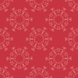 Vector arabic seamless pattern with curls elements. Stock Images