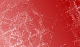 Vector architecture plan Stock Photos