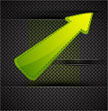 Vector arrow background Royalty Free Stock Photography