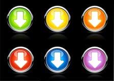 Vector arrow buttons Stock Photo