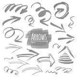 Vector arrow collection Stock Photo