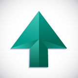Vector arrow cursor Royalty Free Stock Image