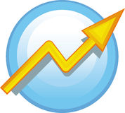 Vector arrow icon Stock Photos