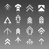 vector arrow logos stock illustration
