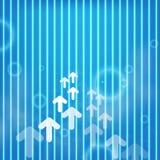 Vector arrow upside growing  design Stock Photos