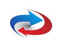 Vector arrows Royalty Free Stock Photo