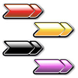 Vector Arrows buttons Royalty Free Stock Images