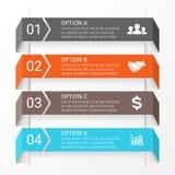 Vector arrows infographic. Template for diagram Stock Photos