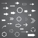 Vector arrows Stock Images