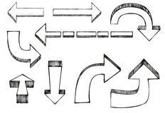 Vector arrows Stock Photo