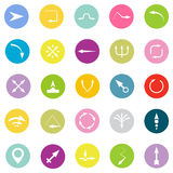 Vector Arrows Signs and Icons  Illustration Stock Photos