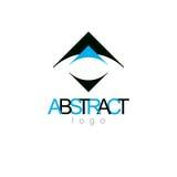 Vector art abstract figure. Business innovation idea creative lo. Go Royalty Free Stock Photos