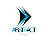 Vector art abstract figure. Business innovation idea creative lo. Go Stock Photography