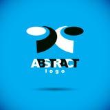 Vector art abstract figure. Creative business icon. Trendy creative design Royalty Free Stock Photos