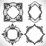 Vector art border frame Stock Images