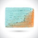 Vector art brush. Vector colorful pastel texture. Vector design elements. Vector art brush. Grunge abstract background. Business sale label. Decoration stroke Stock Illustration