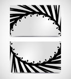 Vector of art business card templates Stock Photo