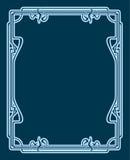 Vector art deco card. Royalty Free Stock Photography