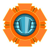 Vector Art Deco Emblem Royalty Free Stock Photos