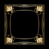 Vector art deco frame. Stock Images