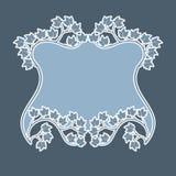 Vector art deco frame. Stock Image