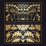 Vector art deco pattern. Royalty Free Stock Images