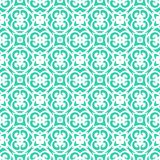 Vector art deco pattern with lacing shapes Stock Photography