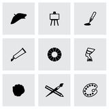 Vector Art icon set Royalty Free Stock Image