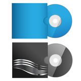 Vector art 4. Illustration set of software box and disc isolated on white background Royalty Free Stock Photos