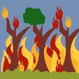 Vector Art Logo Template del ejemplo del desastre natural Foto de archivo