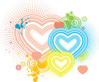 Vector art love backround artwork Stock Photo