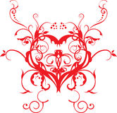 Vector art love backround artwork Royalty Free Stock Photography
