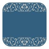 Vector art nouveau card. Royalty Free Stock Photo