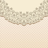 Vector art nouveau card. Royalty Free Stock Images