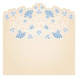 Vector art nouveau card. Stock Photos